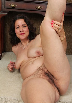tits saggy Hairy mature
