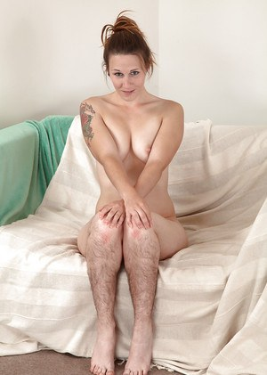 Hairy pussy legs closed